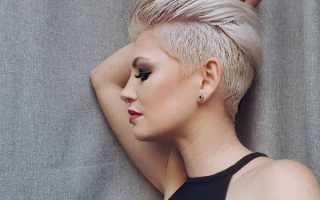 Объемная стрижка на короткие волосы фото