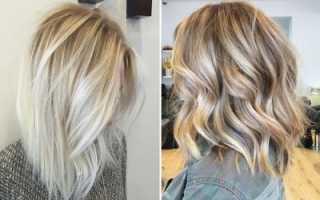 Балаяж на русые волосы техника окрашивания