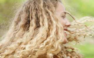 Уход за кудрявыми волосами советы