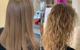Химическая завивка волос биозавивка