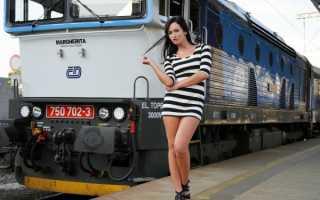 Как одеться в поезд зимой