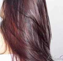 Цвет волос вишня