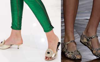 Женская обувь 2018 года модные тенденции фото