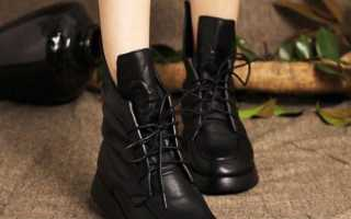 Обувь на осень женская что носить
