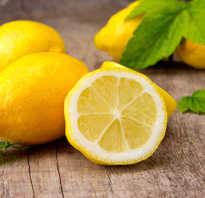 Вода с лимоном польза отзывы