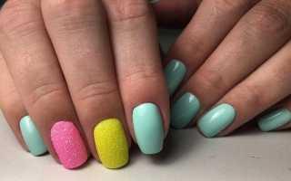 Сочетание цветов ногти