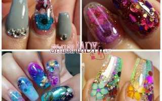 Дизайн ногтей аквариум фото новинки