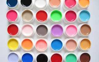 Гель краска для рисования на ногтях