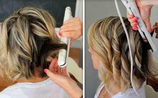 Утюжок для волнистых волос