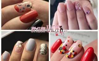Дизайн ногтей с пайетками фото