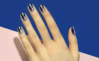 Рисунки на ногтях акриловыми красками для начинающих