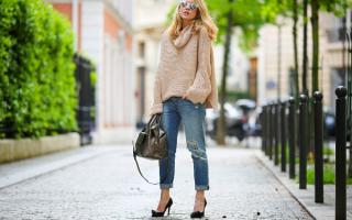 Женская обувь под джинсы фото