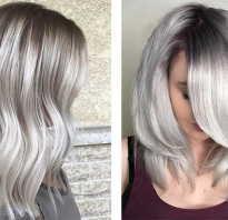 Холодный блонд цвет волос фото с мелированием