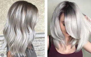 Холодный пепельный блонд краска для волос