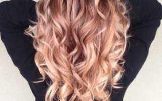 Локоны на концах волос