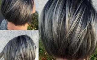 Каре на среднюю длину волос