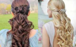 Накрученные длинные волосы фото