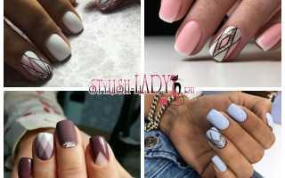 Ромбики для ногтей