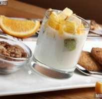 Можно ли йогурт при похудении