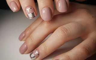 Гель лак на маленькие ногти дизайн