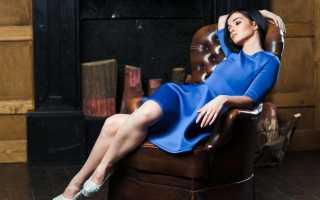 Красивые синие платья фото
