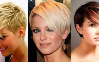 Модельные стрижки на средние волосы