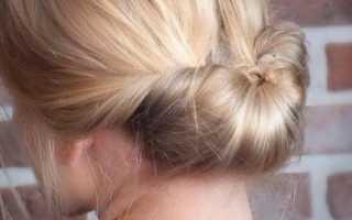 Аккуратные прически на средние волосы