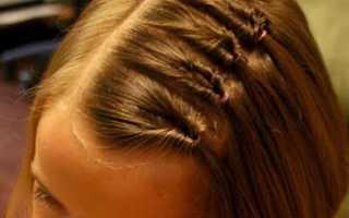 Легкие прически в школу с короткими волосами