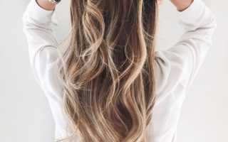 Балаяж на темные волосы холодные оттенки