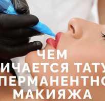 Перманентный татуаж бровей