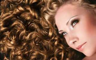 Химия волос кудряшки
