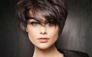 Короткая стрижка волос