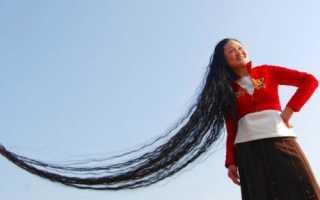 Топ с длинными волосами