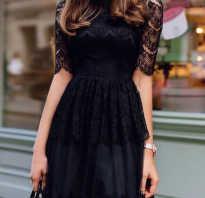 Модели платьев с гипюром