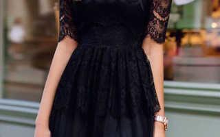 Гипюровые платья для женщин
