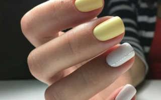Дизайн ногтей синий цвет с блестками