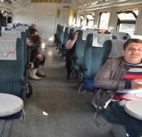 Сидячие места в поезде ржд отзывы