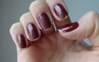 Какой лак долго держится на ногтях
