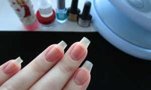 Почему ногти скручиваются под гель лаком