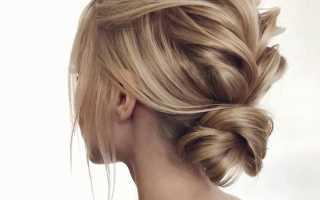 Объемные укладки на средние волосы фото