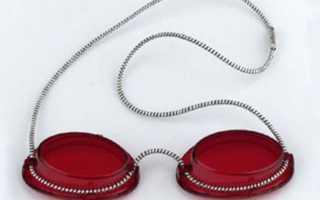 Защитные очки для солярия