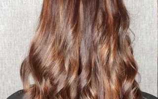Коричневый цвет краски для волос