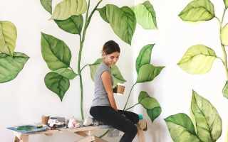 Что можно нарисовать и повесить на стену