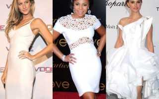 Макияж для белого платья