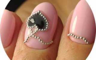 Дизайн ногтей шеллак красный