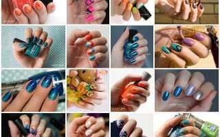 Техника дизайна ногтей