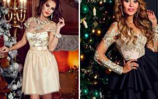 Модные платья на новый