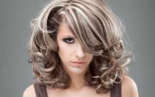 Окрашивание мелированных волос
