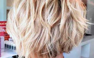 Ложное каре на средние волосы фото