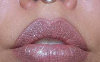 Кольцо в нос септум